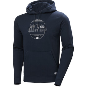 Helly Hansen F2F Cotton Hoodie Men navy